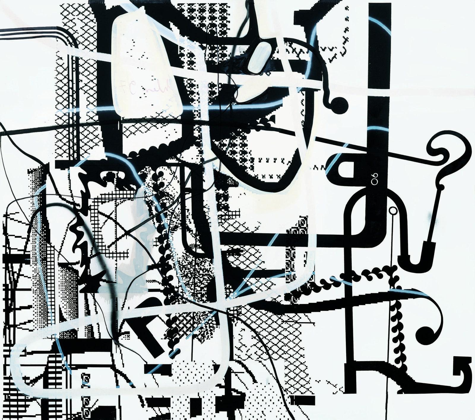 "Albert Oehlen's ""Gripensis Posterion"""