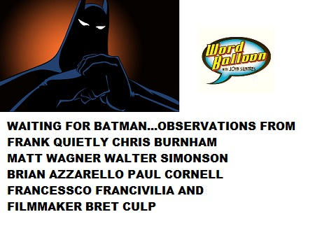 Waiting For Batman W Quietly Burnham Azzarello Simonson Wagner Cornell Francvillia & Culp