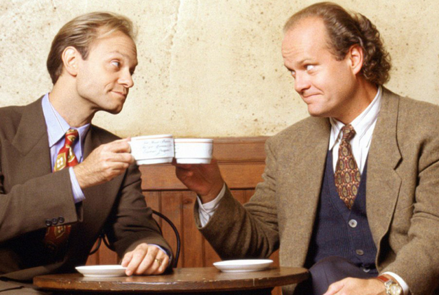 More like Joey or Frasier?