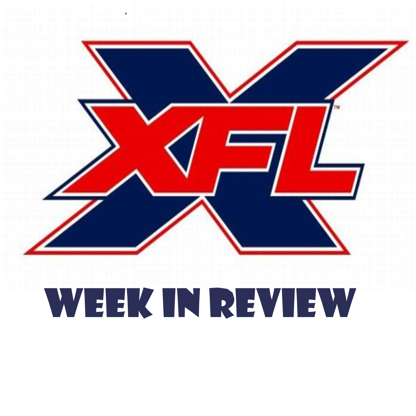 XFL Week In Review show art