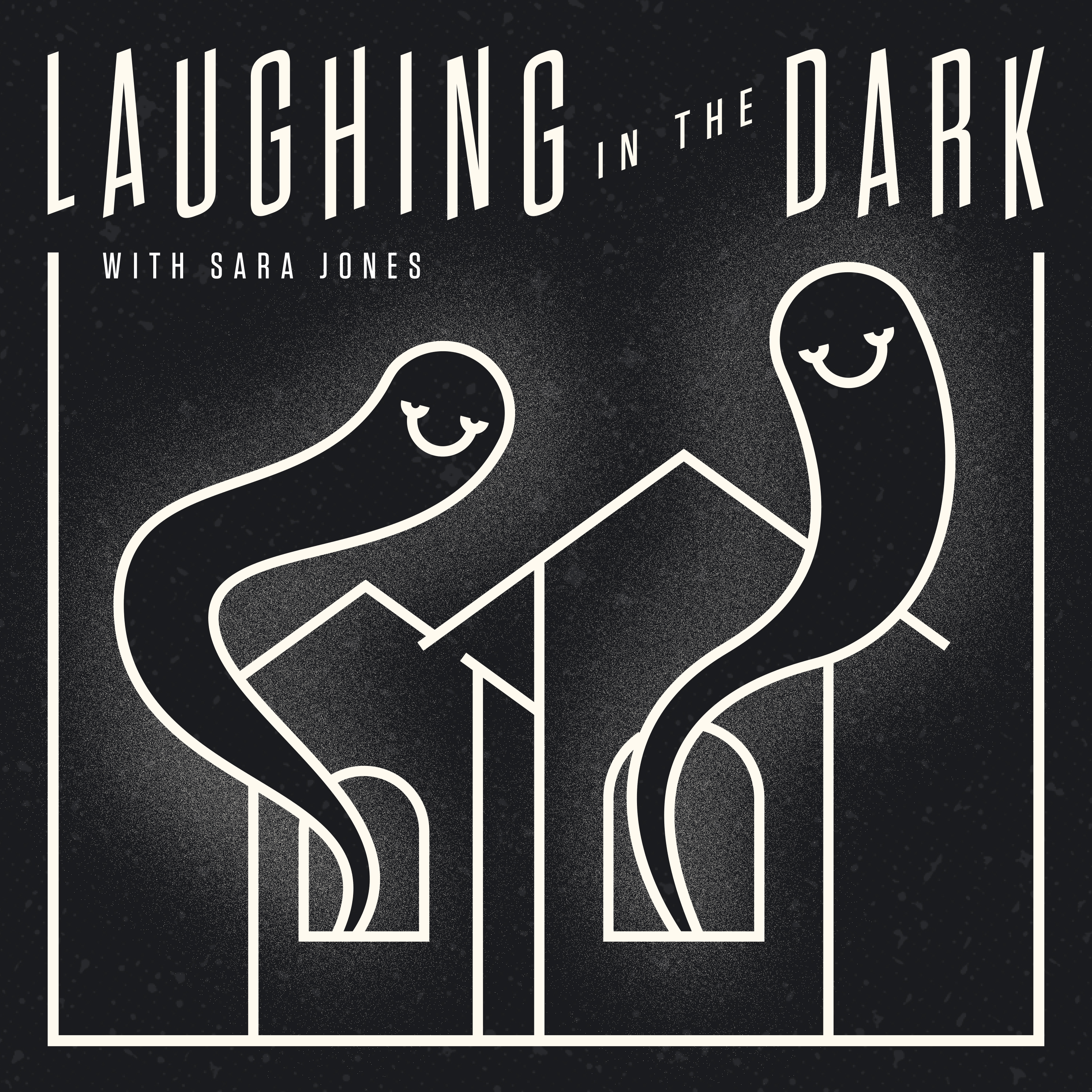 Laughing in the Dark show art