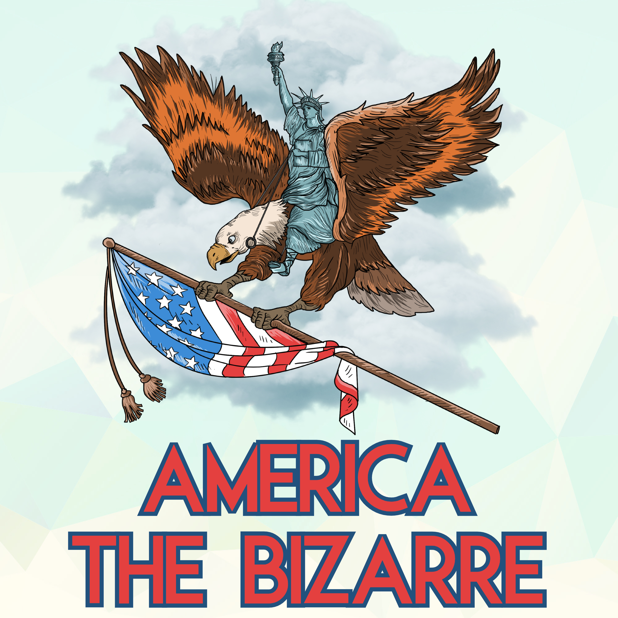 America The Bizarre show art