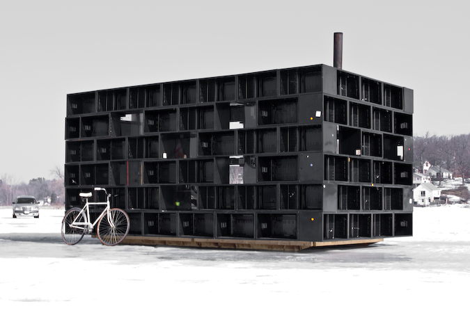 Art Shanty Projects Podcast: Bicycle Race Warmin Hut
