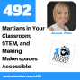 Artwork for Martians in Your Classroom, STEM, and Making Makerspaces Accessible