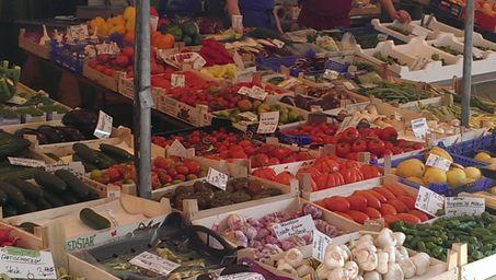 Gemuese und Obst sind optimale Energielieferanten