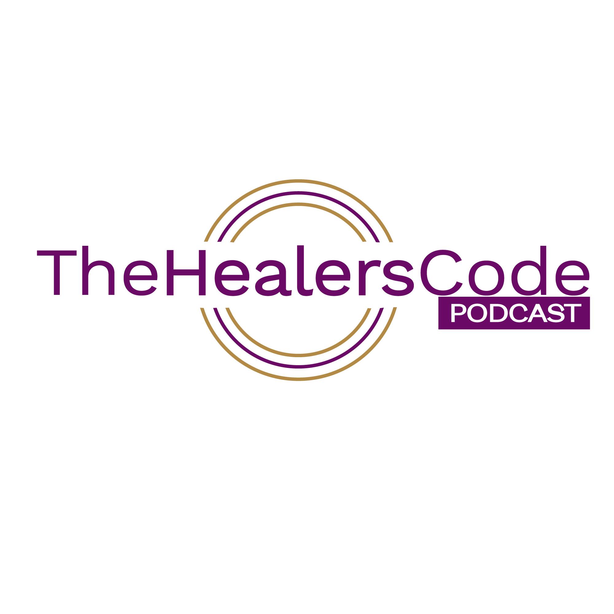 The Healer's Code Podcast show art