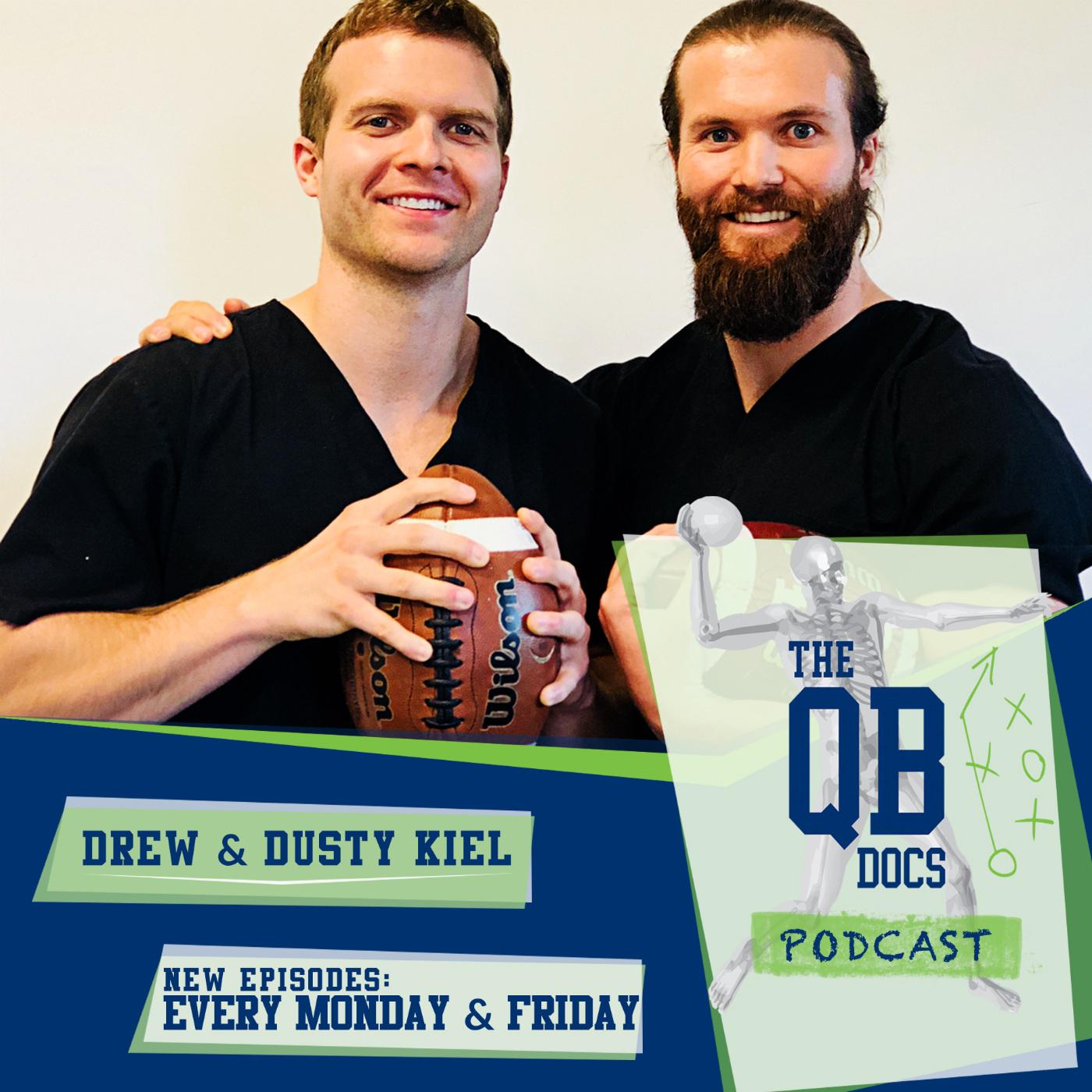 The QB Docs Podcast show art