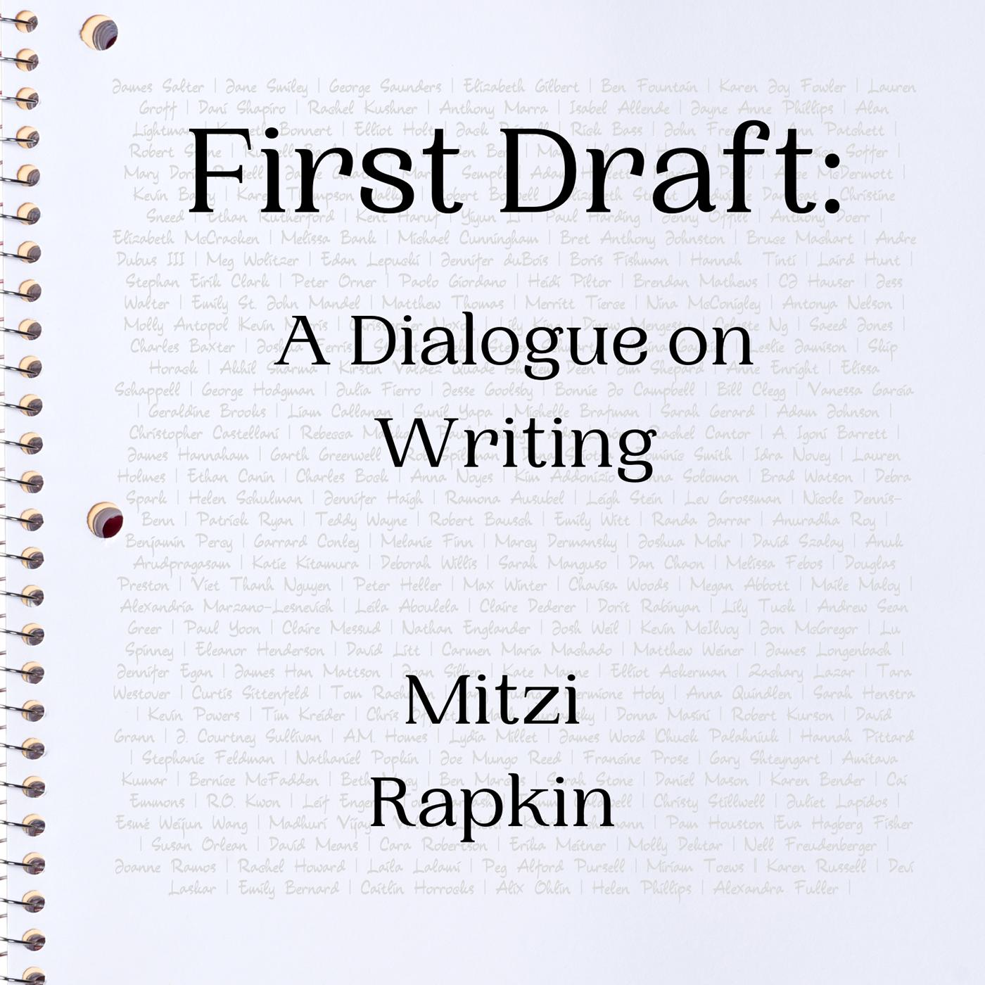 First Draft: A Dialogue on Writing show art