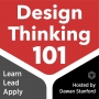Artwork for How to Learn Design Thinking + Desingn Thinking Pedagogy with Julie Schell — DT101 E15