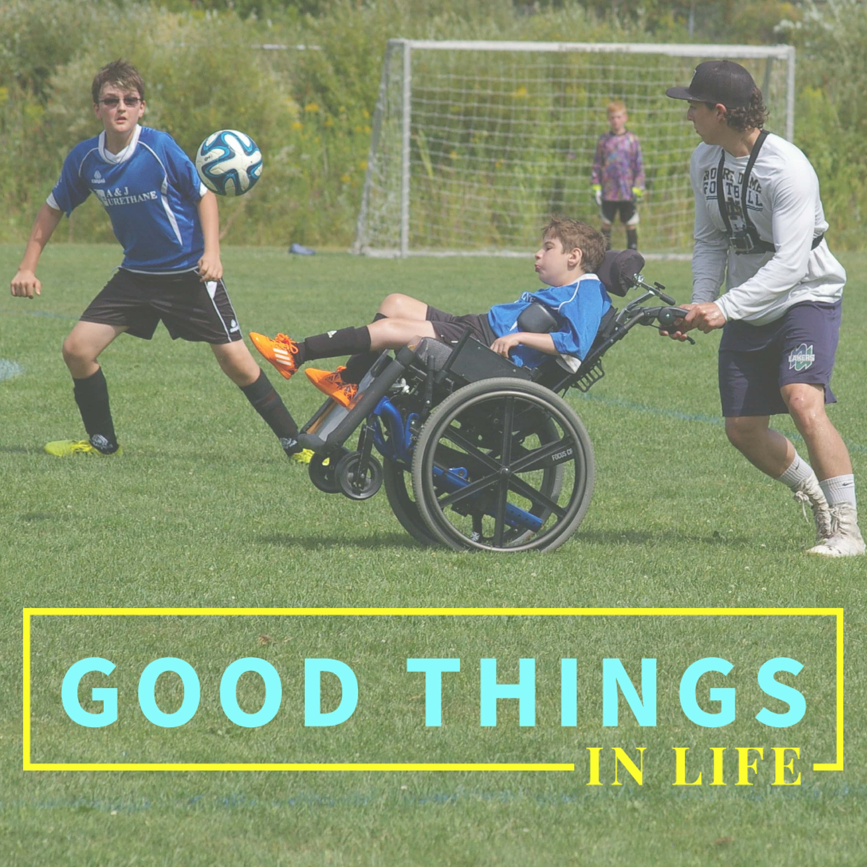 Good Things in Life podcast show art