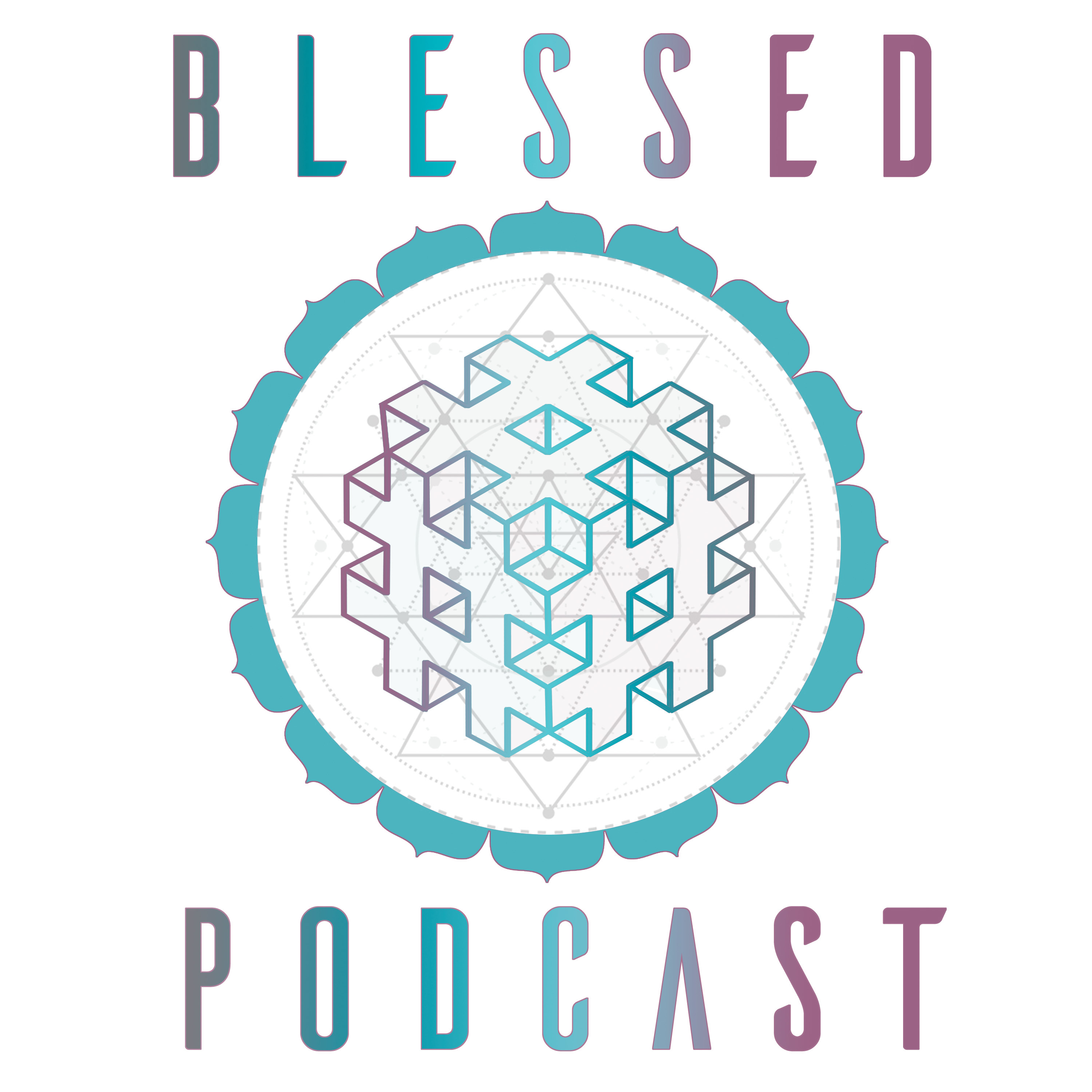 Blessed Podcast show art