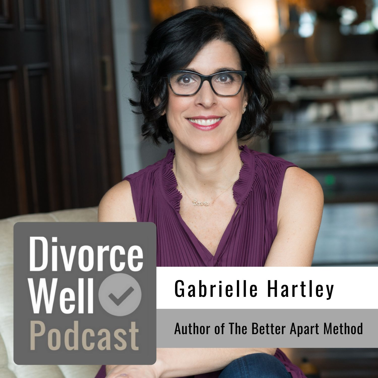 The Divorce Well Podcast - 29 - Gabrielle Hartley, Author of The Better Apart Method