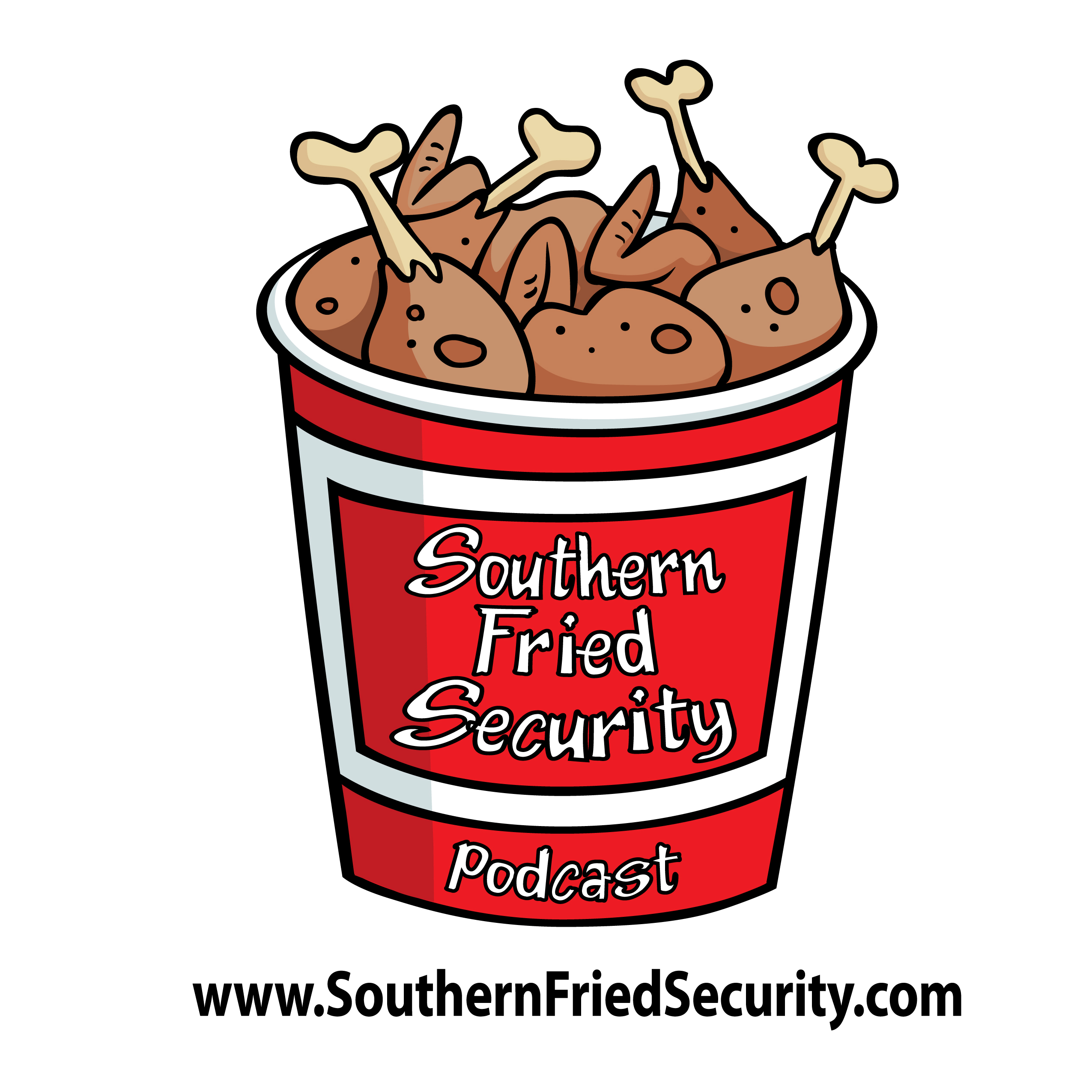 The Southern Fried Security Podcast show art