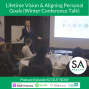 Artwork for #82 - Lifetime Vision & Aligning Personal Goals (Winter Conference Talk)