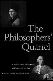 On Hume and Rousseau's quarrel with John T. Scott