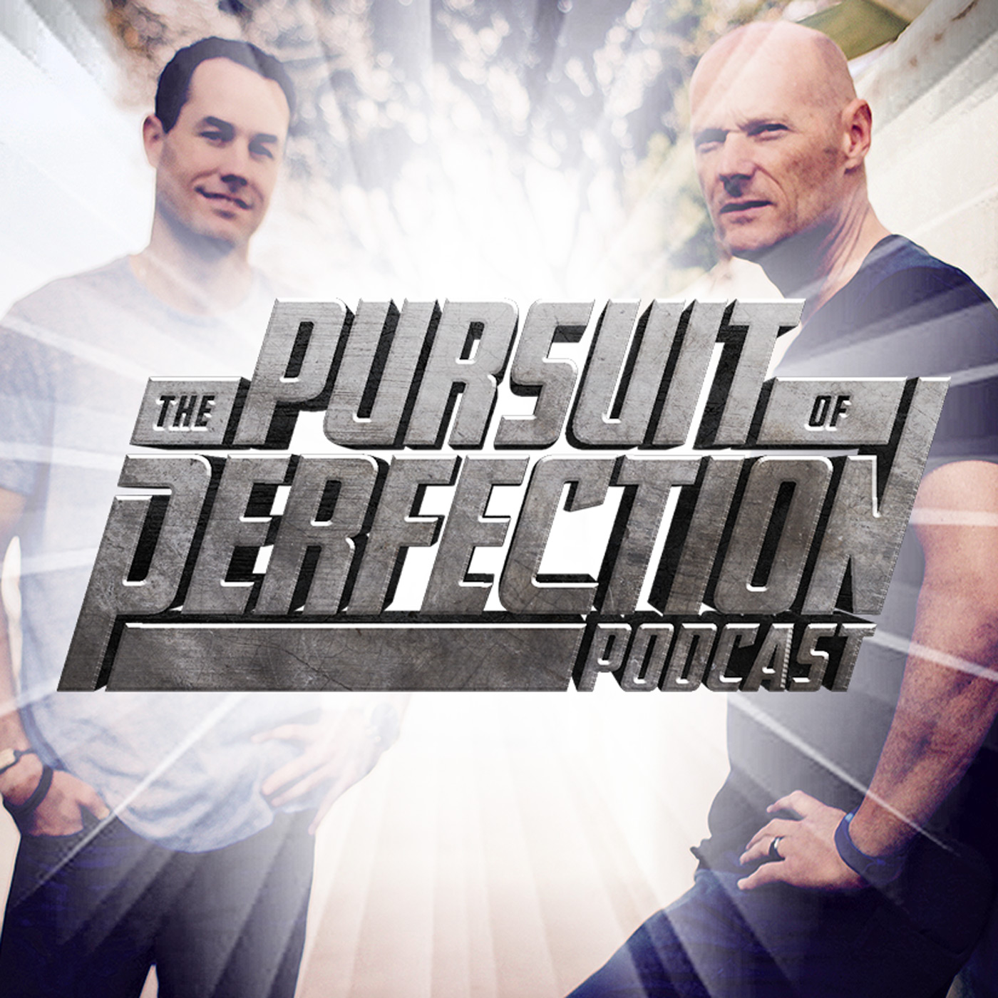 The Pursuit of Perfection Podcast show art