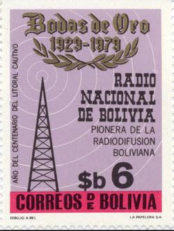 MN.11.02.1982. Bolivian Radio Profile