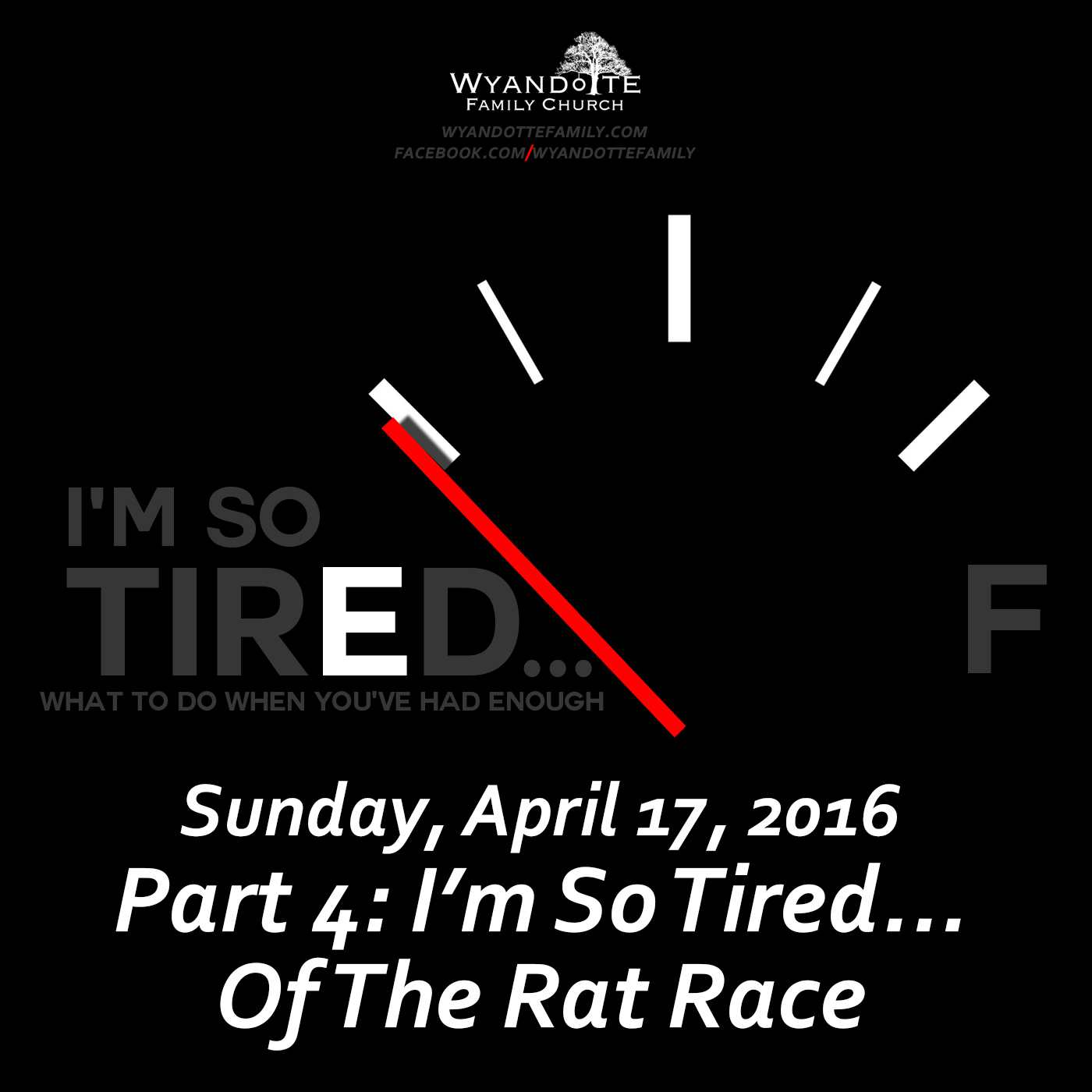 "I'm so Tired Part 4: ""I'm so Tired...of the Rat Race"""