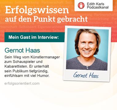147 – Im Gespräch mit Gernot Haas – Teil 2
