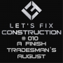 Artwork for Episode #010: A Finish Tradesman's August