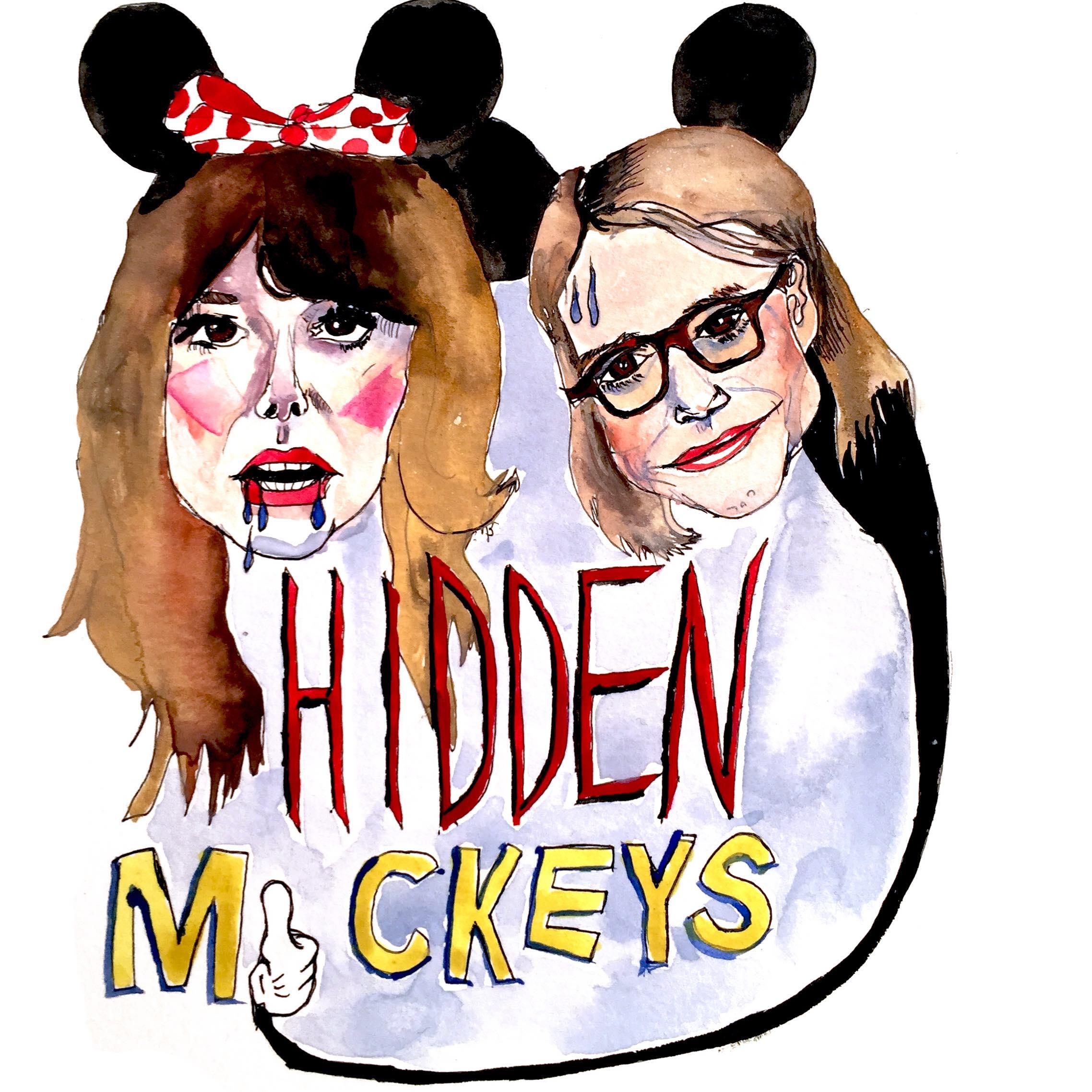 Hidden Mickeys show art