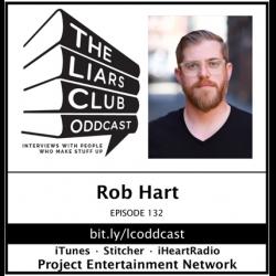 The Liars Club Oddcast: The Liars Club Oddcast # 132 | Rob Hart, Award-Winning Thriller Author