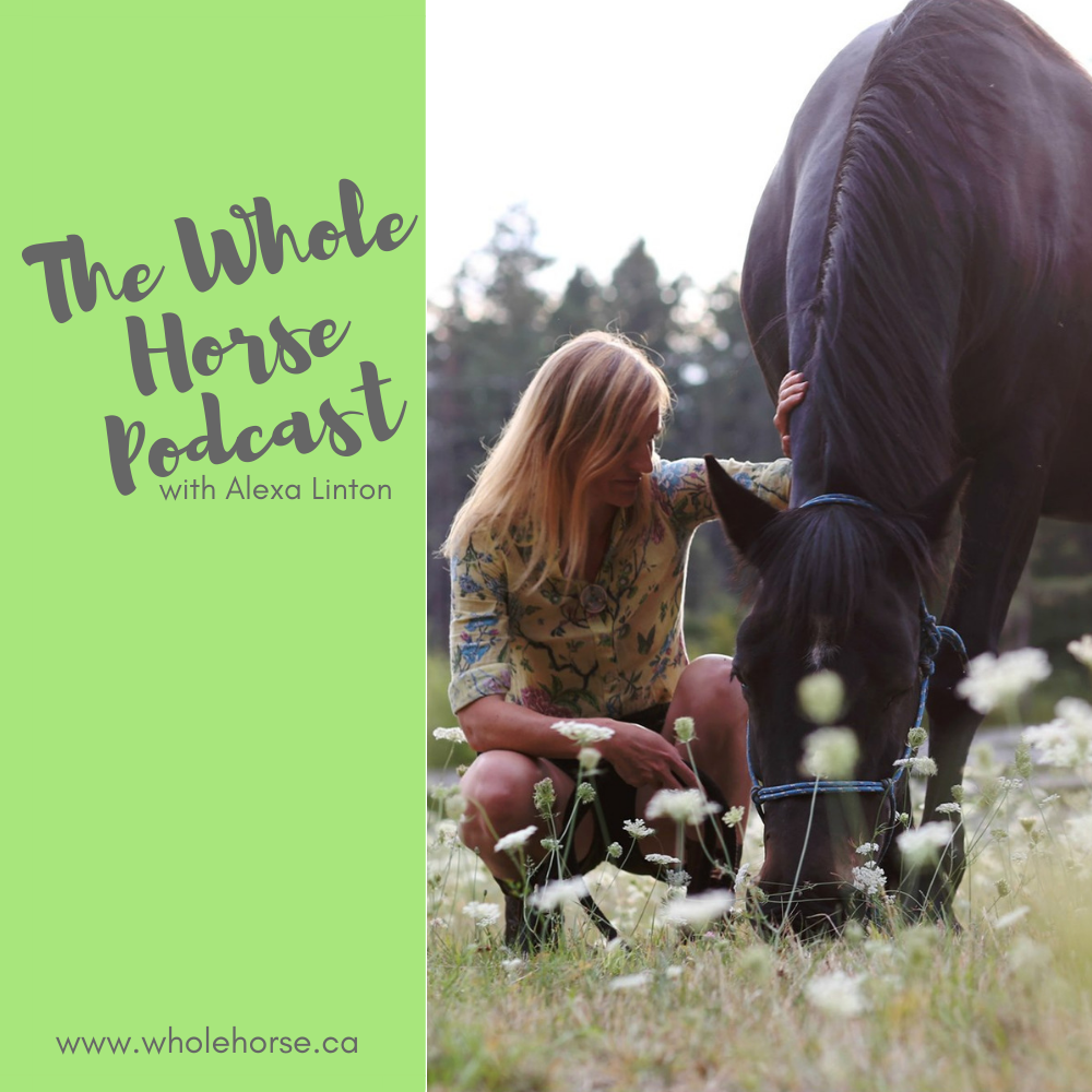 The Whole Horse Podcast with Alexa Linton show art