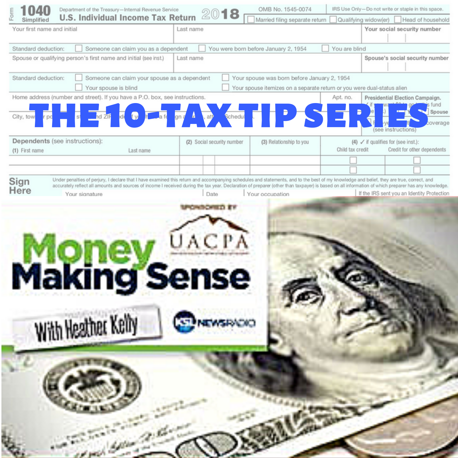 Artwork for TAX TIP #3:  Standard Deductions changed this year
