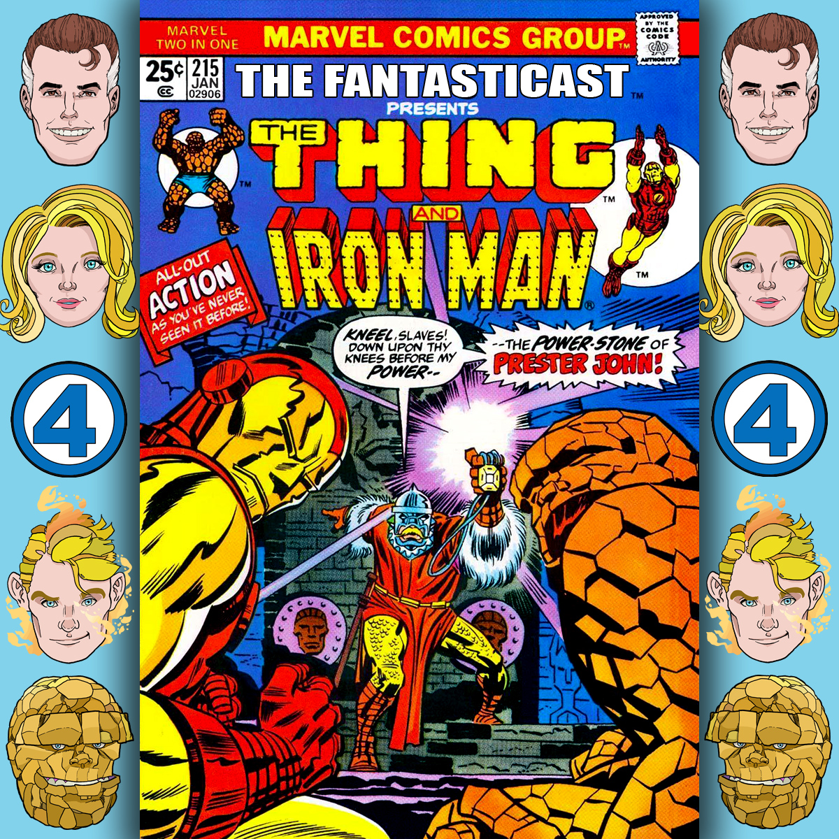 Episode 215: Marvel Two-in-One #12 - The Stalker In The Sands