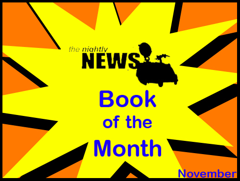 Cammy's Comic Corner - Book Of The Month - The Nightly News
