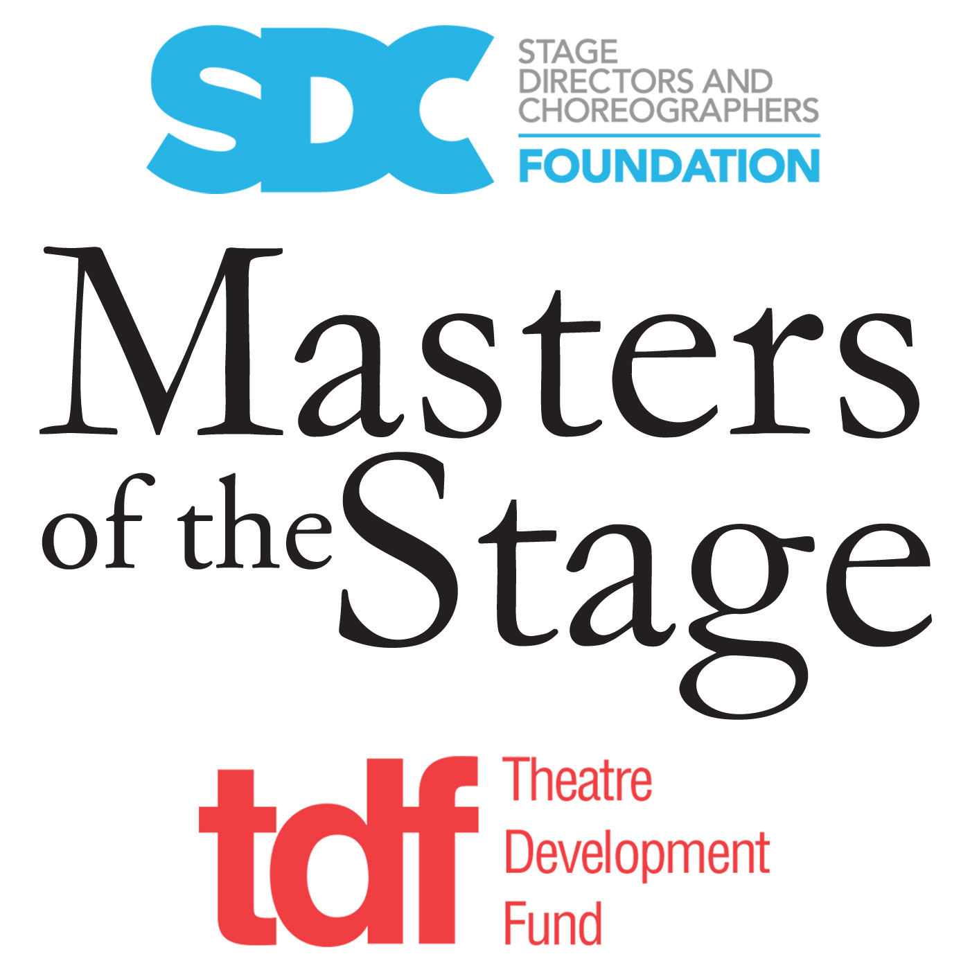 SDCF Masters of the Stage logo