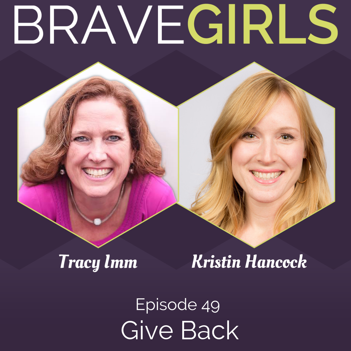 Artwork for Give Back with Kristin Hancock