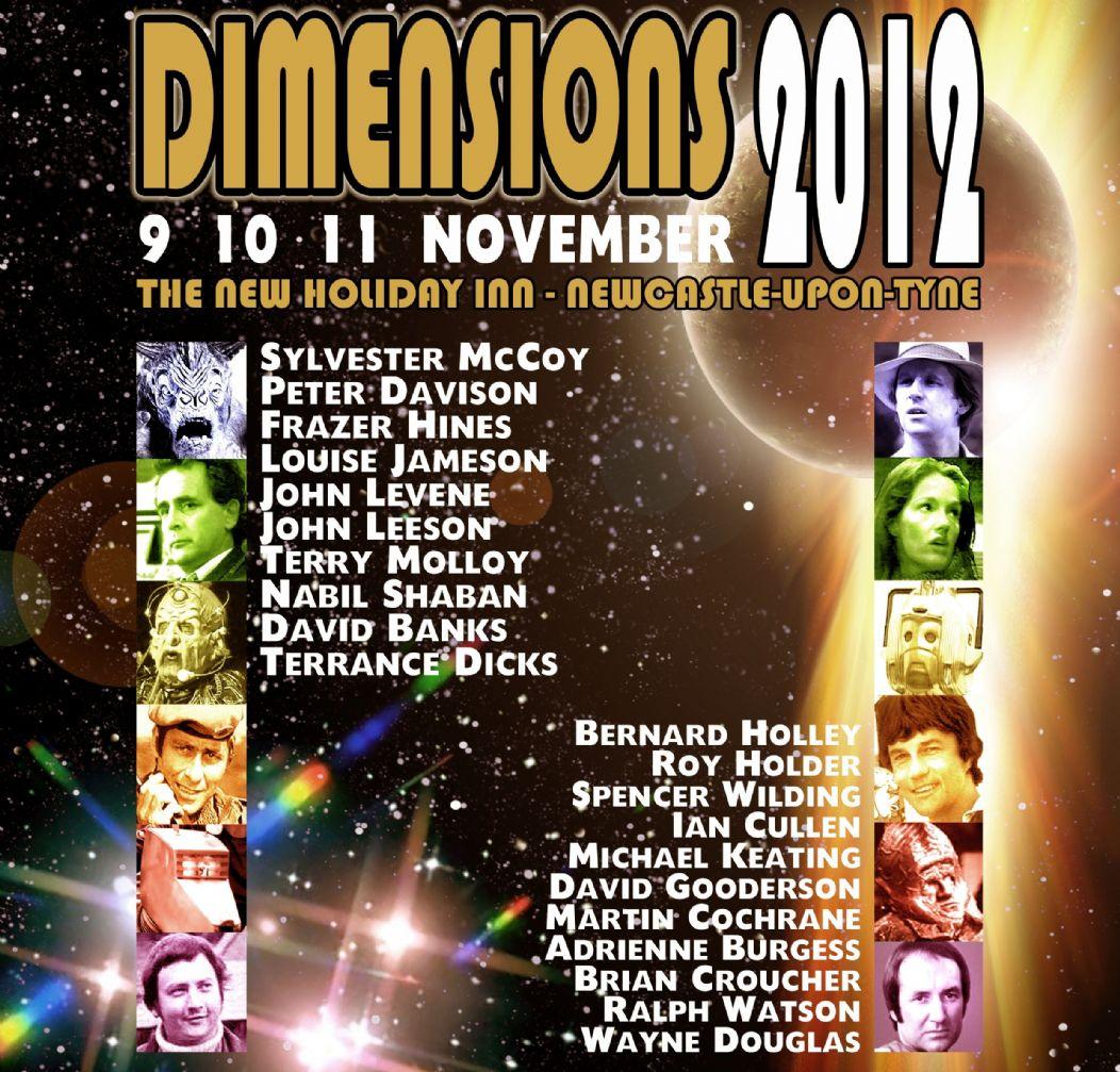 TDP: Dimensions 2012! 9 10 11 November!