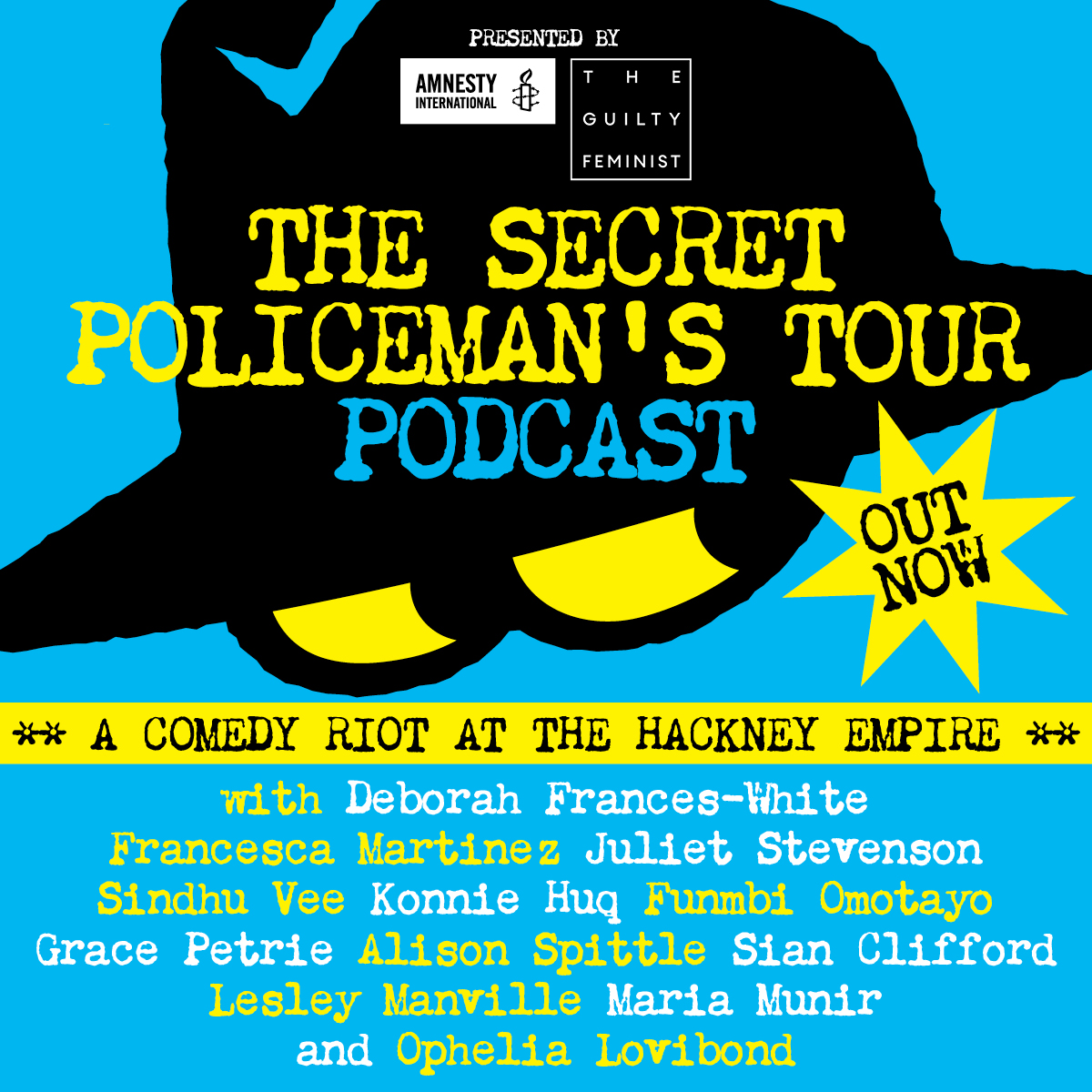 Artwork for The Secret Policeman's Tour - Hackney Empire 2019