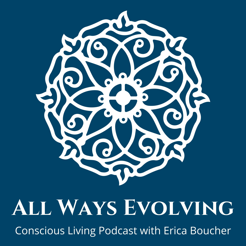 ALL WAYS EVOLVING with Erica Boucher show art