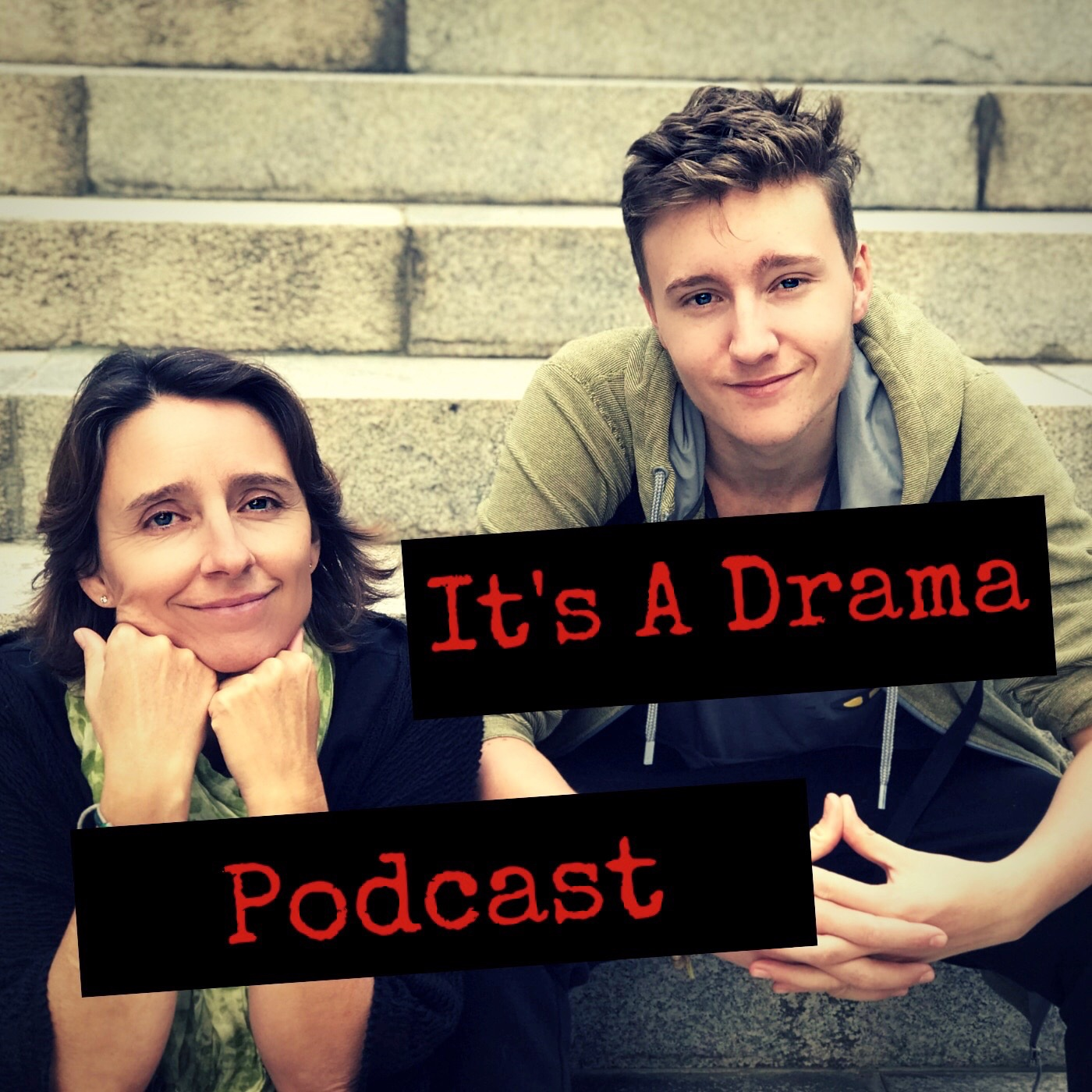 It's a Drama: Life in New Zealand Podcast. show art