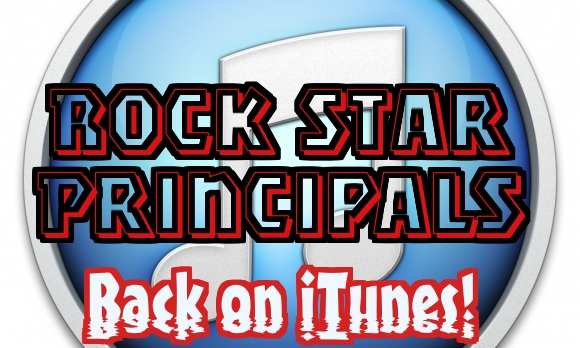 Rock Star Principals' Podcast Back on iTunes!