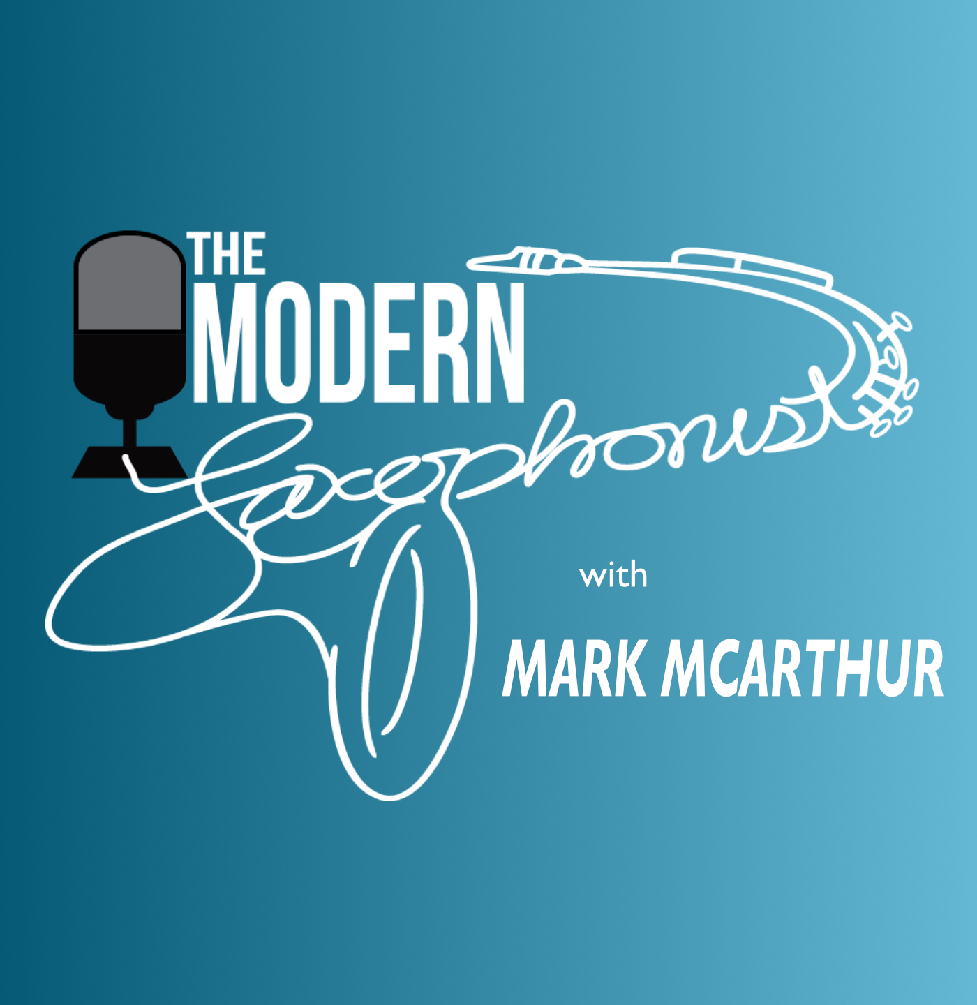 The Modern Saxophonist Podcast show art