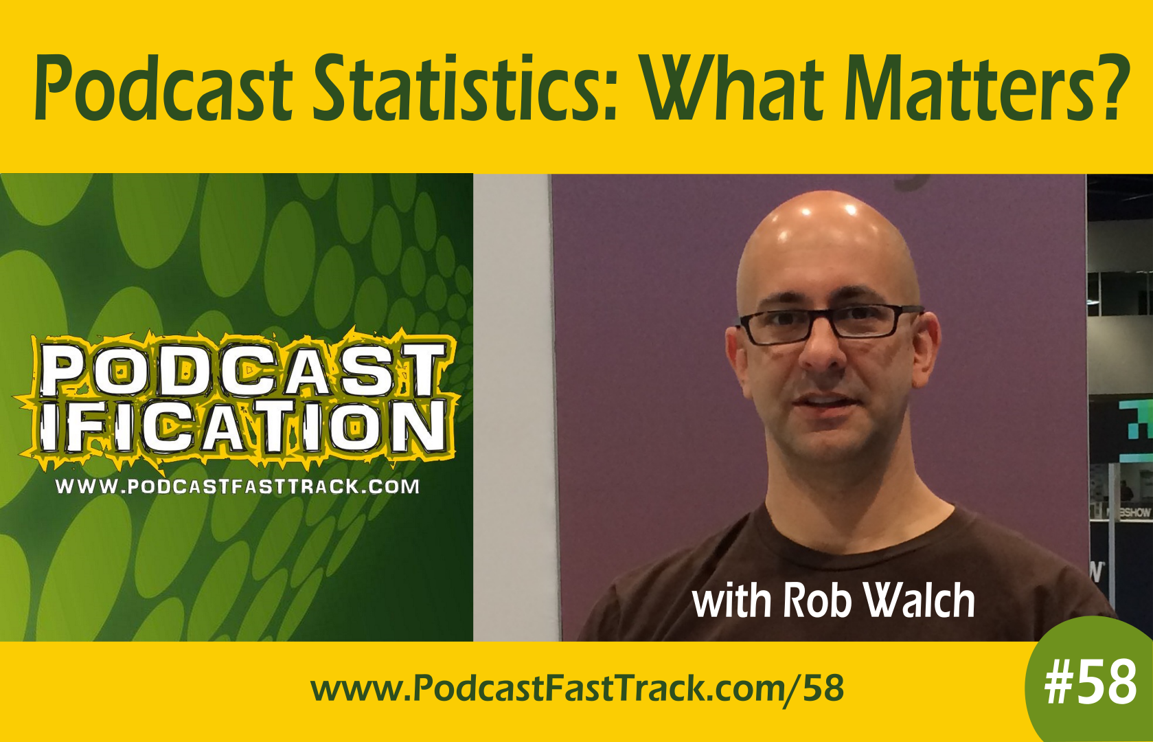 Rob Walch on Podcast Statistics - episode 58