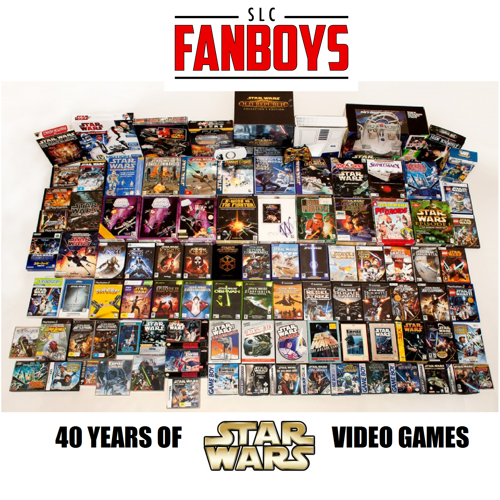 Artwork for 4 Decades of Star Wars Video Games (VIDEO)