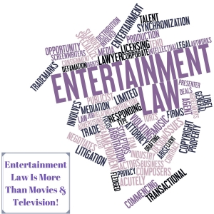 Entertainment Law Is More Than Movies & Television! -EP26