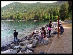 Lake Chelan.