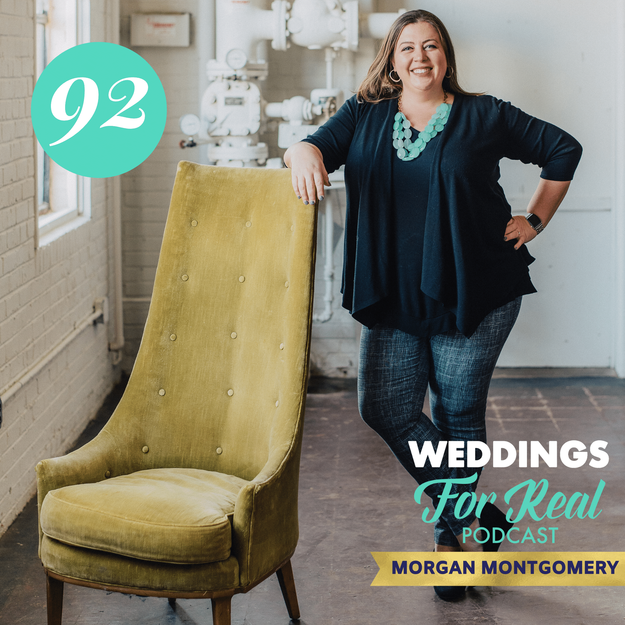 Morgan Montgomery on Weddings for Real Podcast