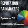 Artwork for #52 - How Amazon, retailers & consumers should deal with fake reviews!