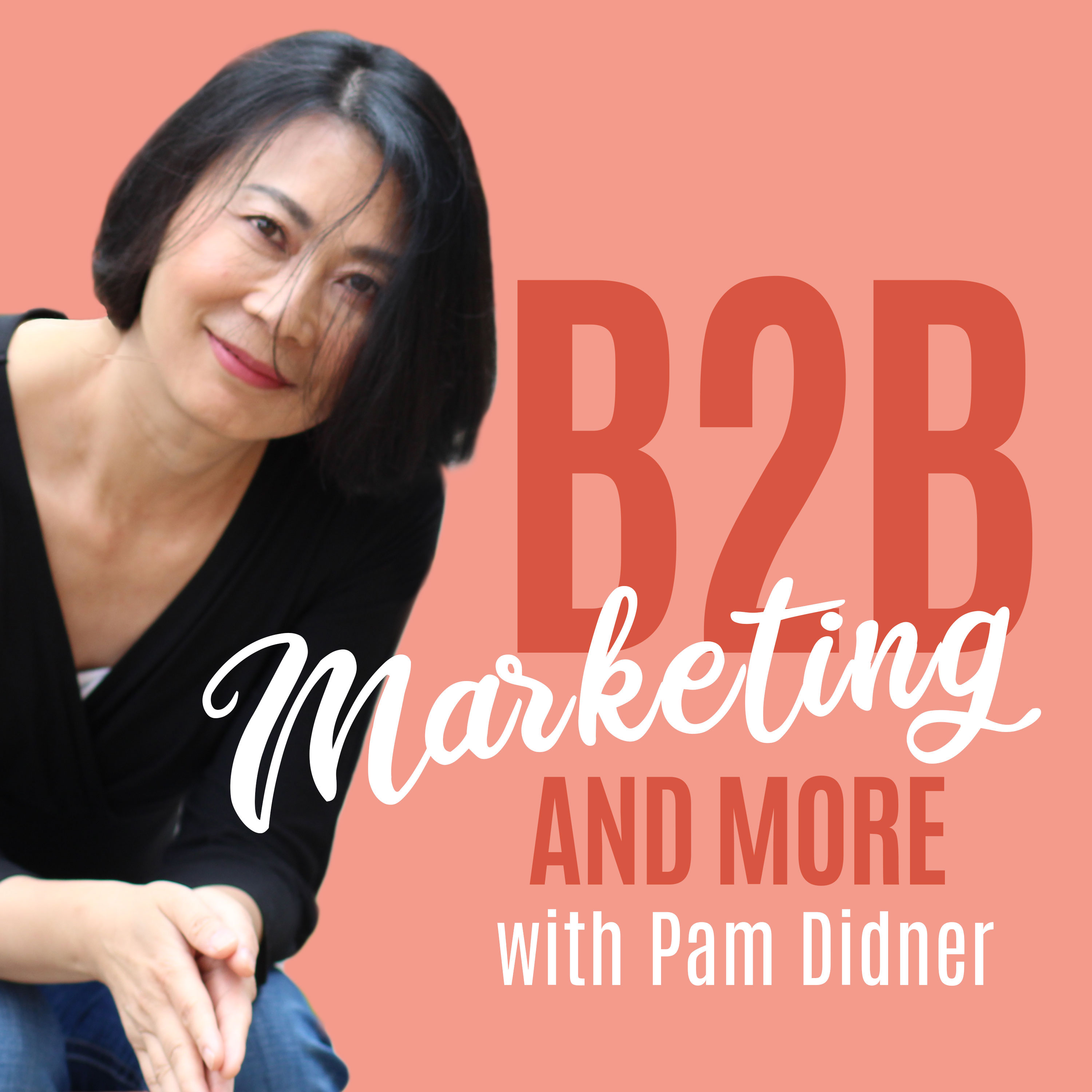 B2B Marketing and More With Pam Didner show art