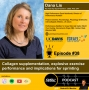 Artwork for FTP #38: Dana Lis - Collagen supplementation, explosive exercise performance and implications for sprinting