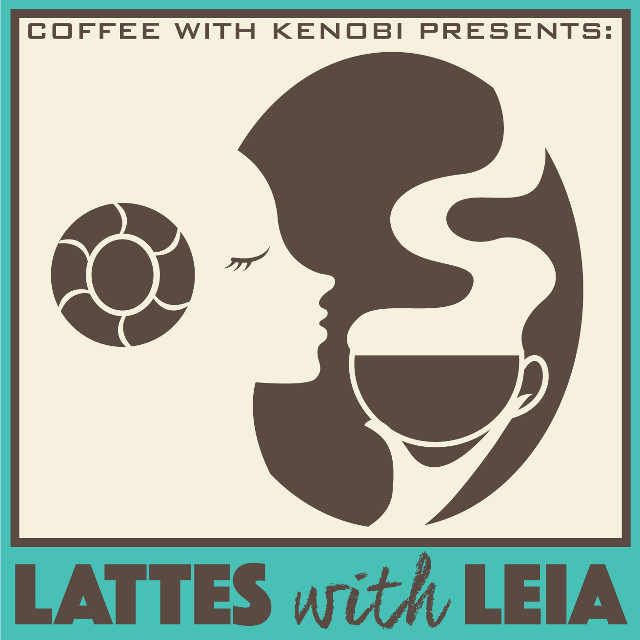 Lattes with Leia Show #22: Snacking on Star Wars show art