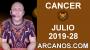 Artwork for HOROSCOPO CANCER - Semana 2019-28 Del 7 al 13 de julio de 2019 - ARCANOS.COM