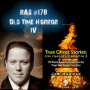Artwork for RAS #178 - Old Time Horror IV