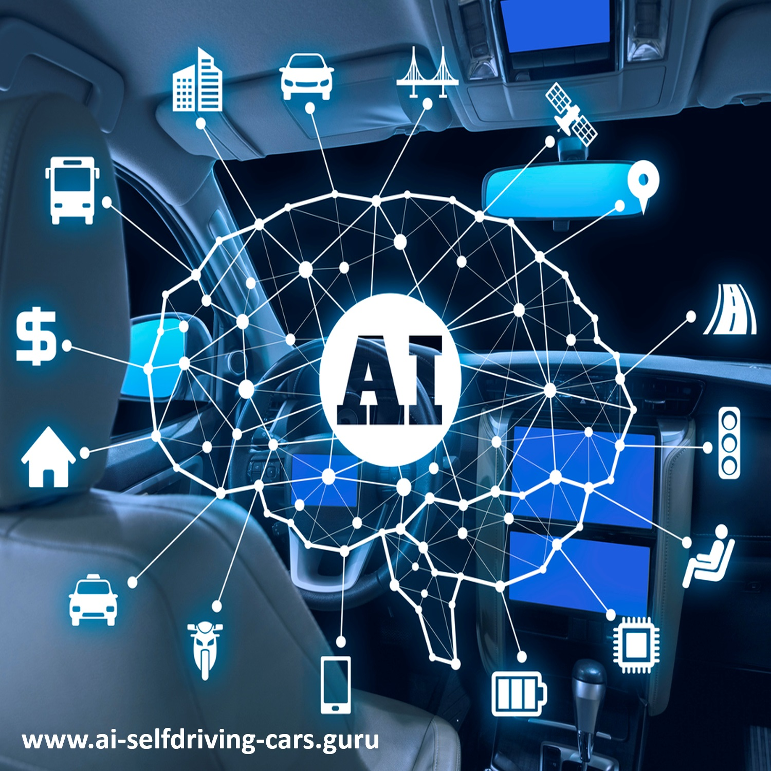 Self-Driving Cars: Podcast Series by Dr. Lance Eliot show art